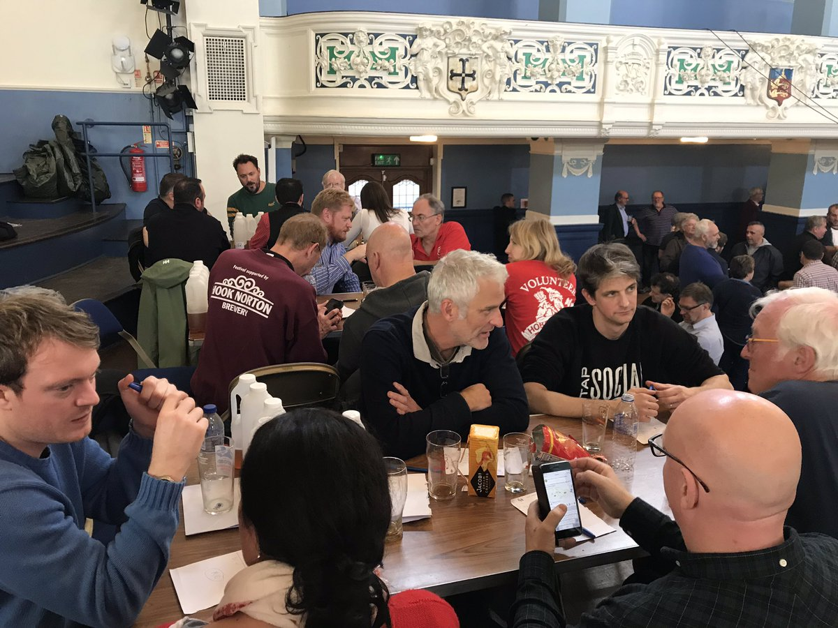 Judging Oxfordshire Beer of thge Festival